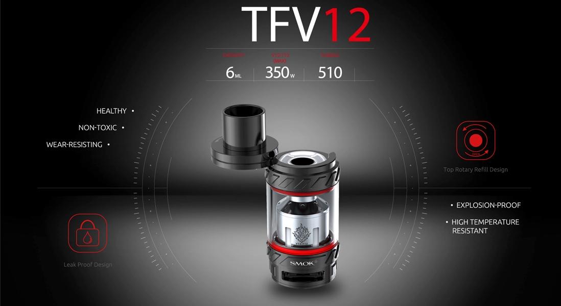 SMOK TFV12 Tank 1