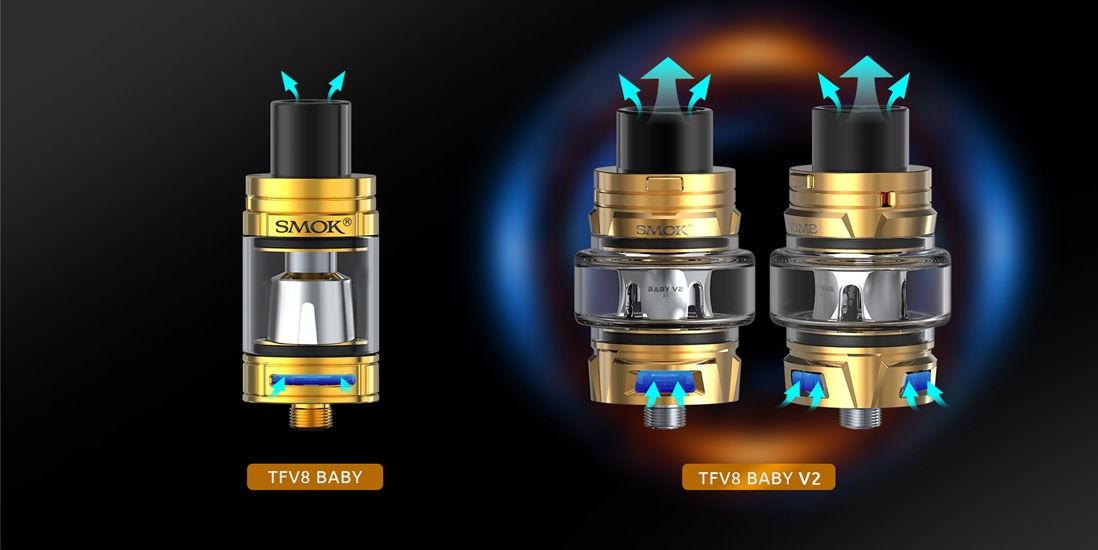 SMOK TFV8 Baby V2 Tank Features 11