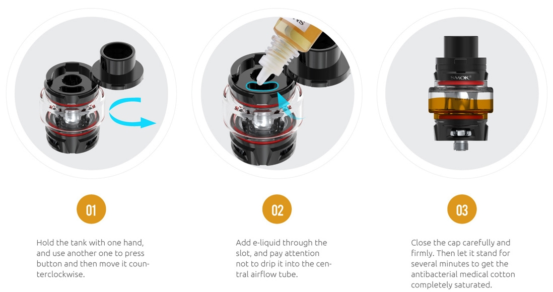 SMOK TFV8 Baby V2 Tank Features 6