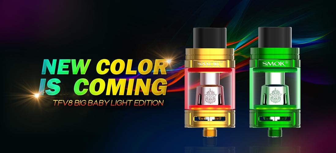 SMOK TFV8 Big Baby Light Edition Atomizer