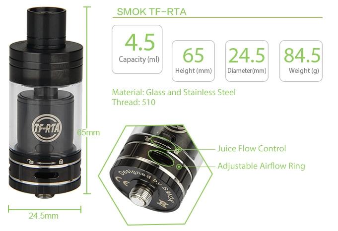 SMOK TF RTA G4 Edition Tank