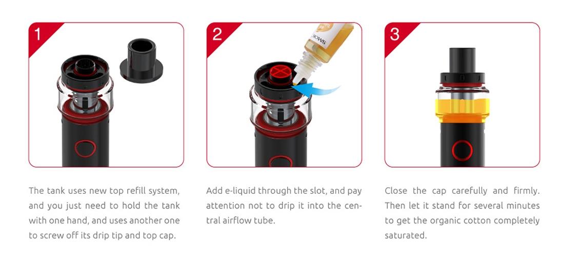 SMOK Vape Pen 22 Light Edition Kit Features