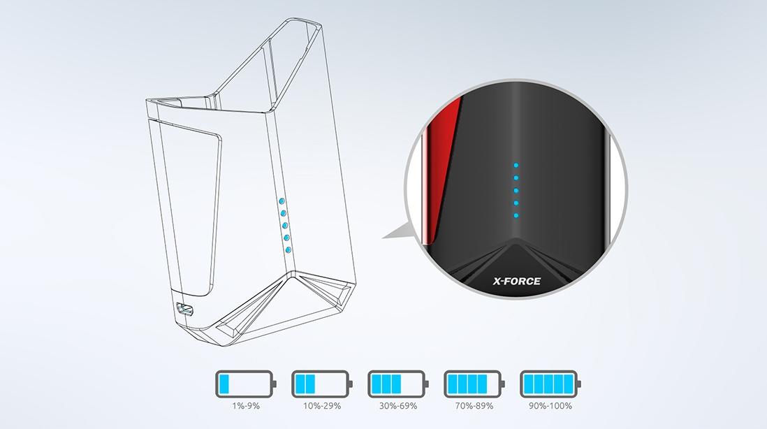 SMOK X-Force Kit LED