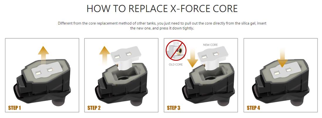 SMOK X-Force Kit Replace Core