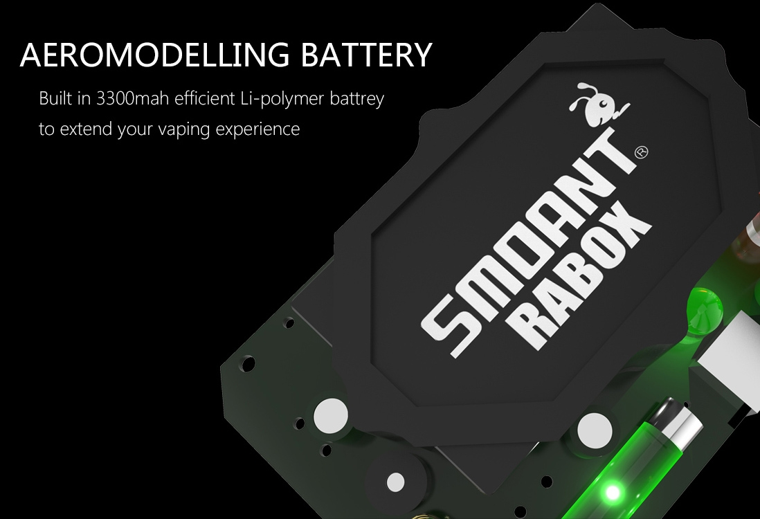 Smoant Rabox 100W Mod features 5