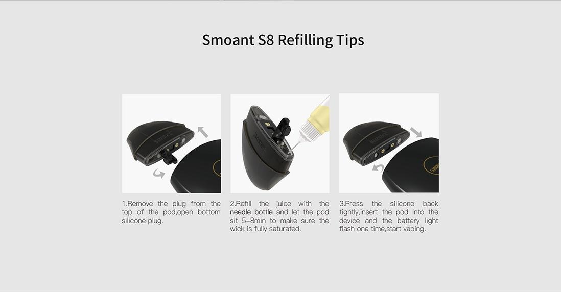 Smoant S8 Pod Starter Kit Main Features 7