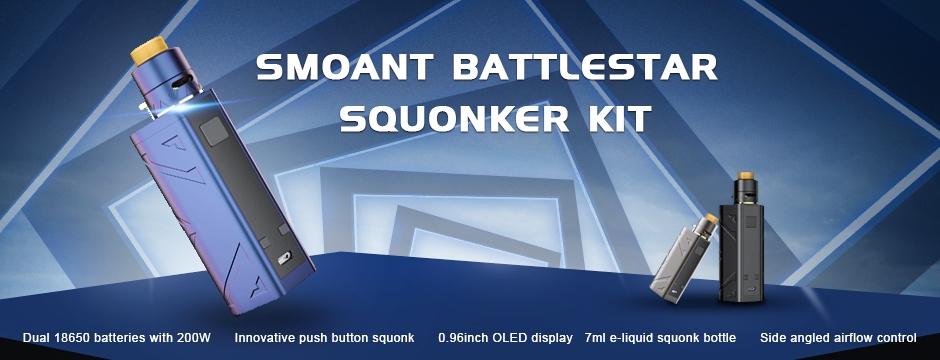 Smoant Battlestar Squonker Kit