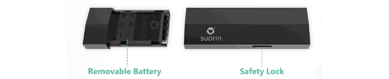 Suorin Edge Kit Case & 2 Batteries Structure