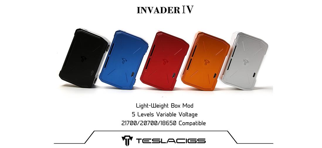 Tesla Invader IV Mod Banner