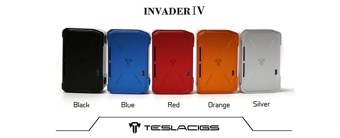 Tesla Invader IV Mod Colors