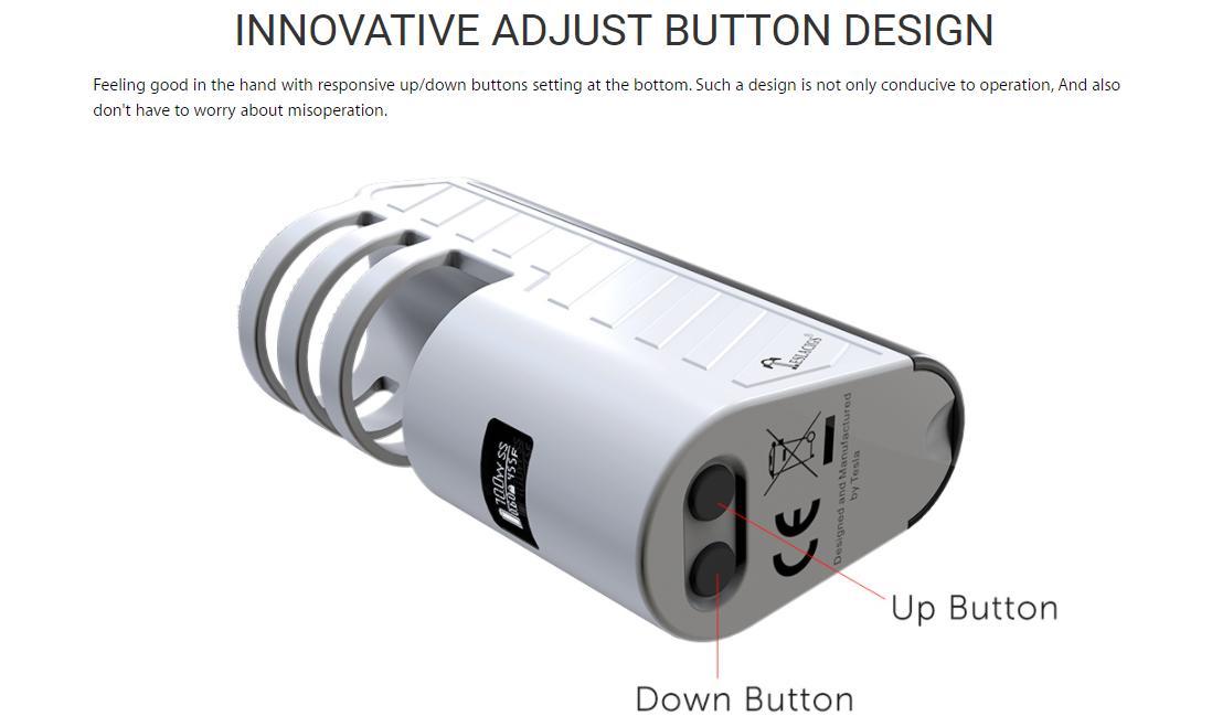 Tesla Stealth 70W Kit Button