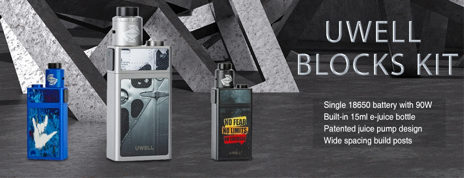 Uwell Blocks Kit