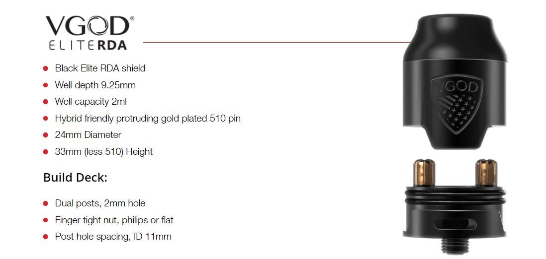 VGOD Pro Mech 2 Kit Features