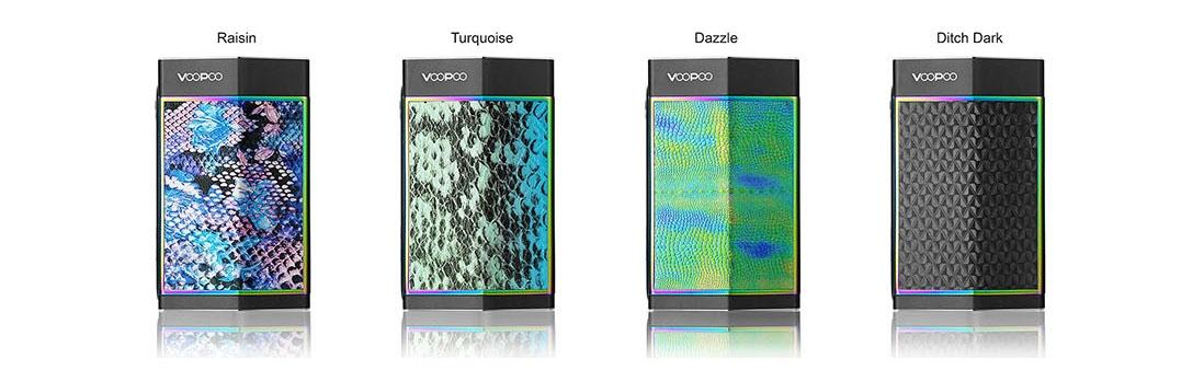 VOOPOO TOO 180W TC Box Mod Black Frame Colors