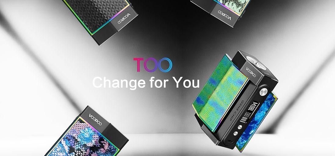 VOOPOO TOO 180W TC Box Mod Black Frame