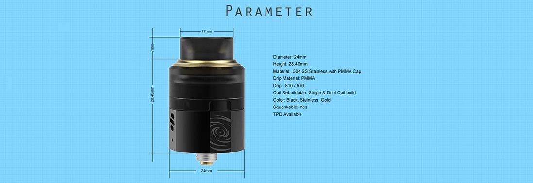 Vapefly Wormhole RDA Parameter
