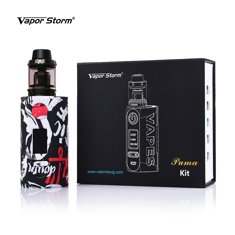 Vapor Storm Puma 200W Box Kit Packing List