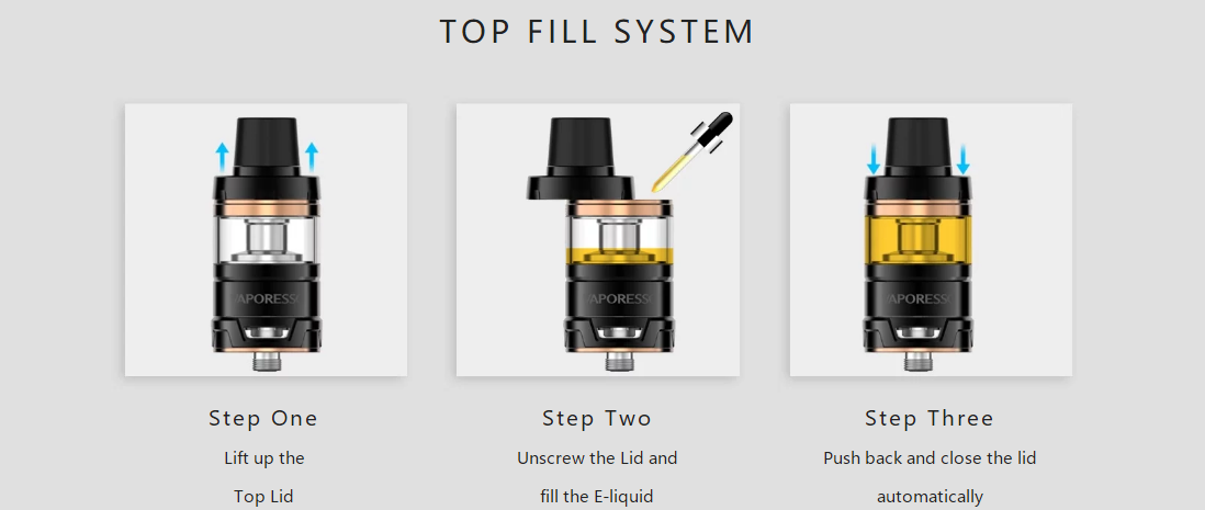 Vaporesso Armour Pro Kit 2ml features 2