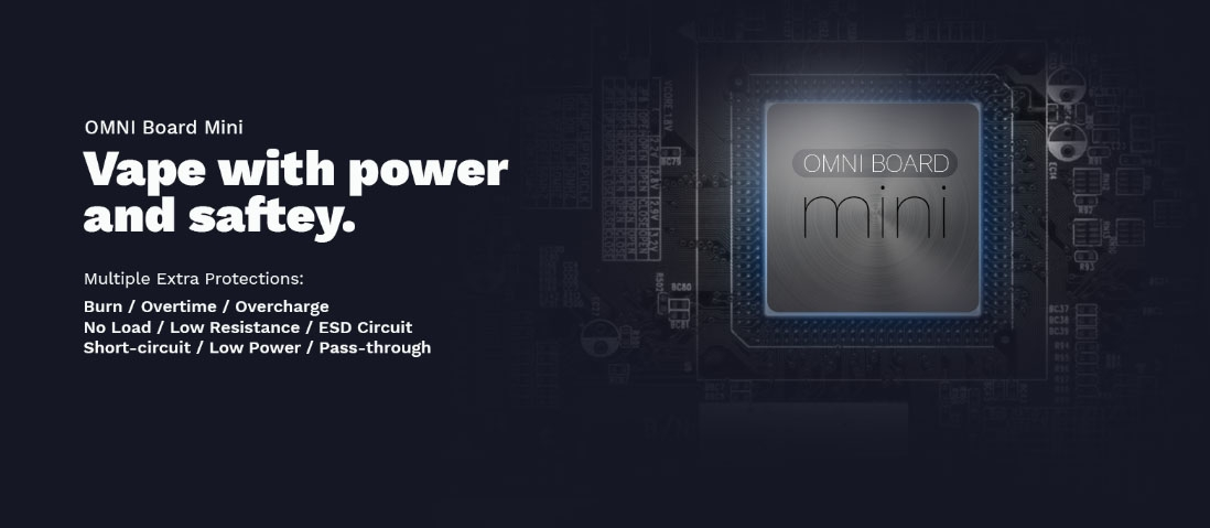 Vaporesso Drizzle Fit Mod OMNI Board Chip