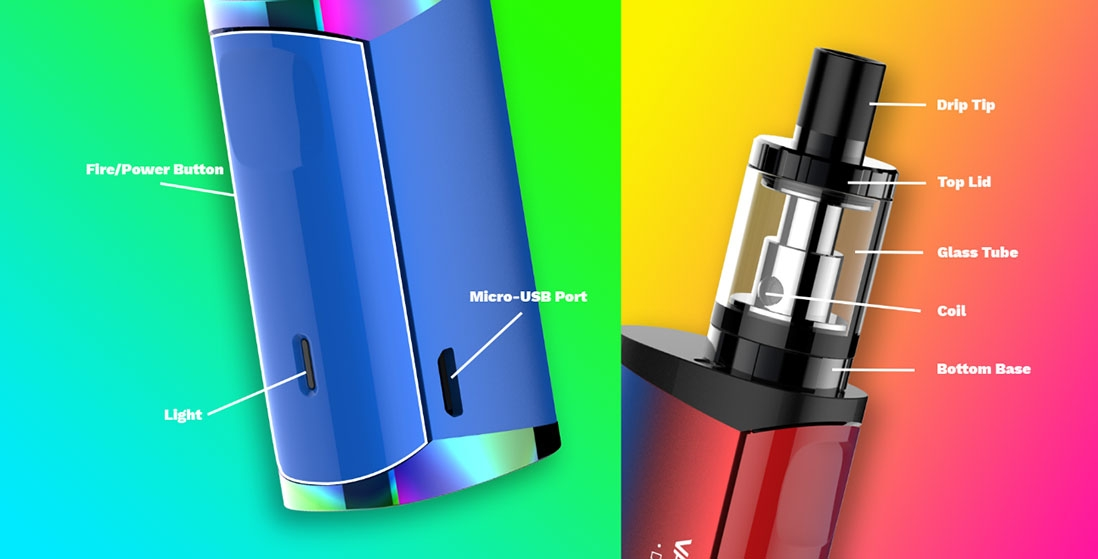 Vaporesso Drizzle Fit Kit Components