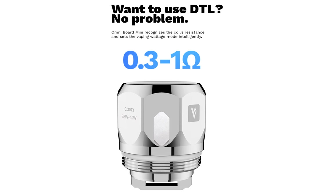 Vaporesso Drizzle Fit Kit MTL DTL