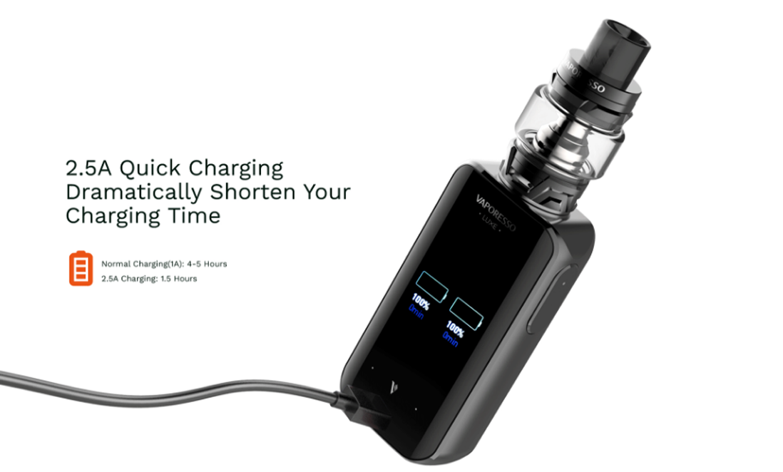 Vaporesso LUXE with SKRR Kit features 4