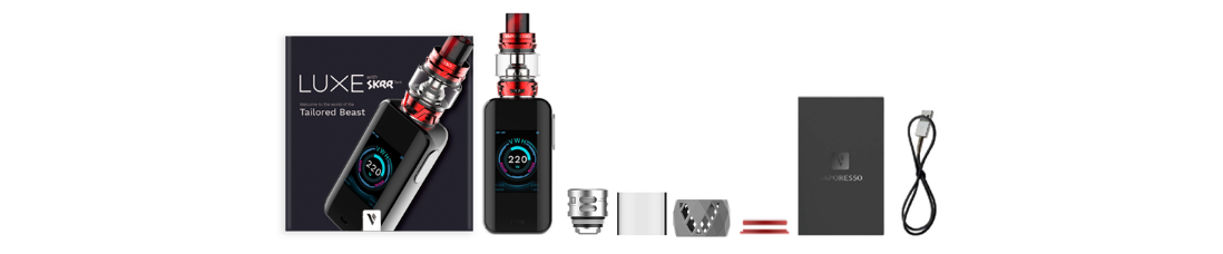 Vaporesso LUXE with SKRR Kit Package