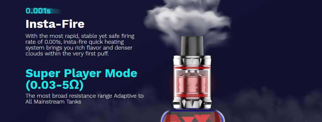 Vaporesso Luxe Nano Firing Speed