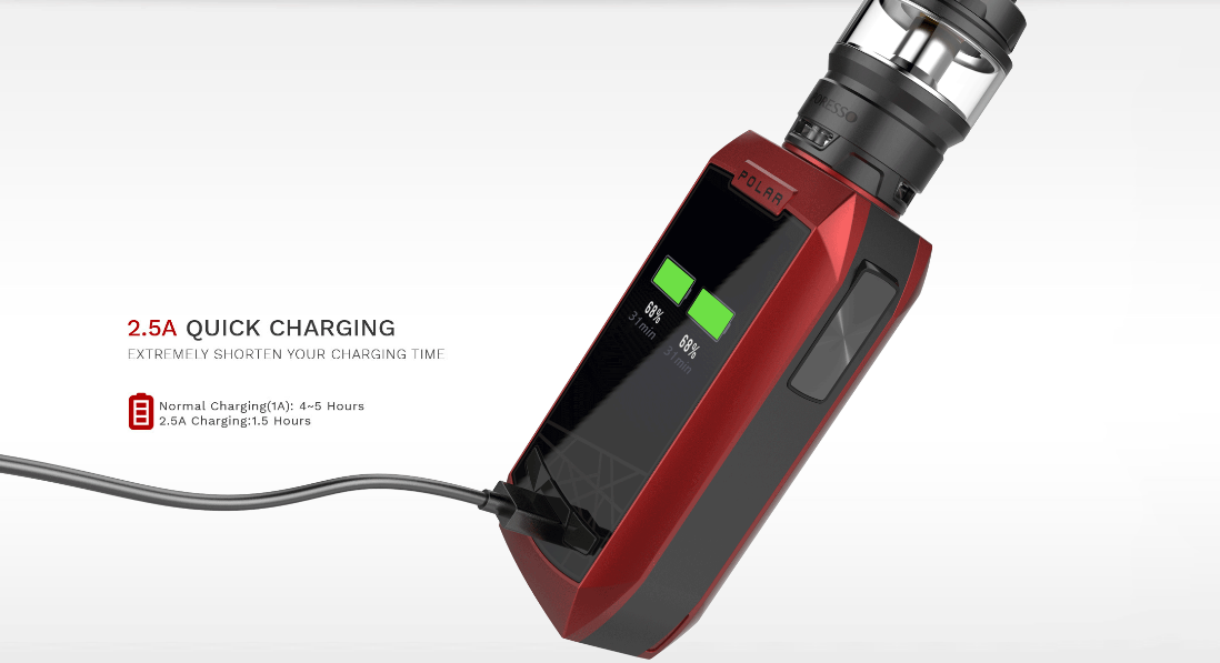 Vaporesso Polar with Cascade Baby SE Kit  features 3