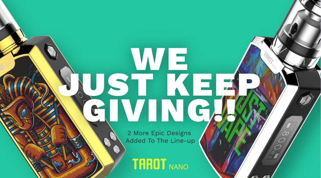 Vaporesso Tarot Nano Kit New Colors