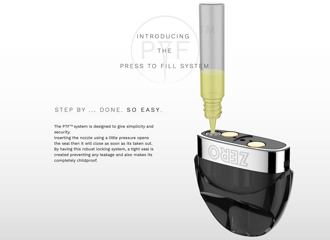 Vaporesso Zero Kit features 1
