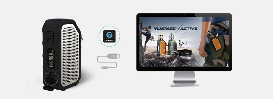 Wismec Active Mod charging
