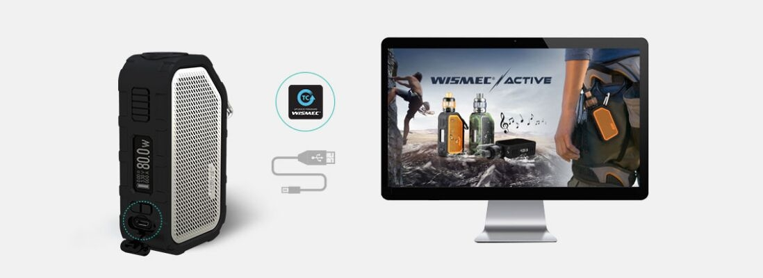 Wismec Active Kit charging