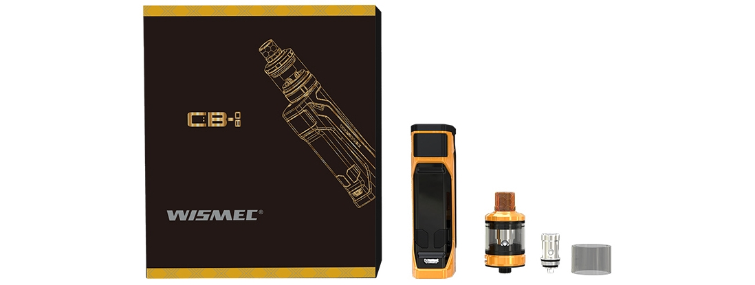 What's in Wismec CB-80 Kit Package