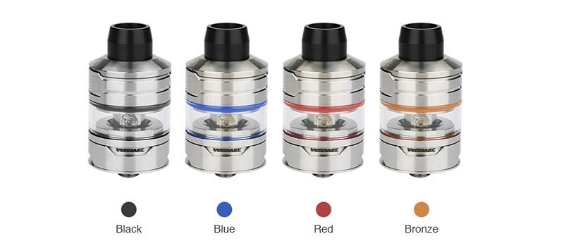 Wismec Divider Atomizer Colors