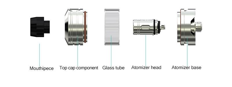 Wismec Divider Atomizer Structure