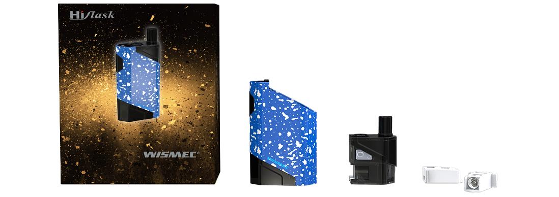 Wismec HiFlask Pod System Vape Kit - Packing List