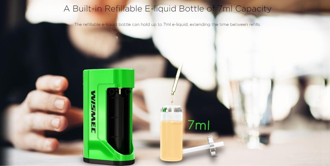Wismec LUXOTIC DF BOX Mod with 7ml Bottle