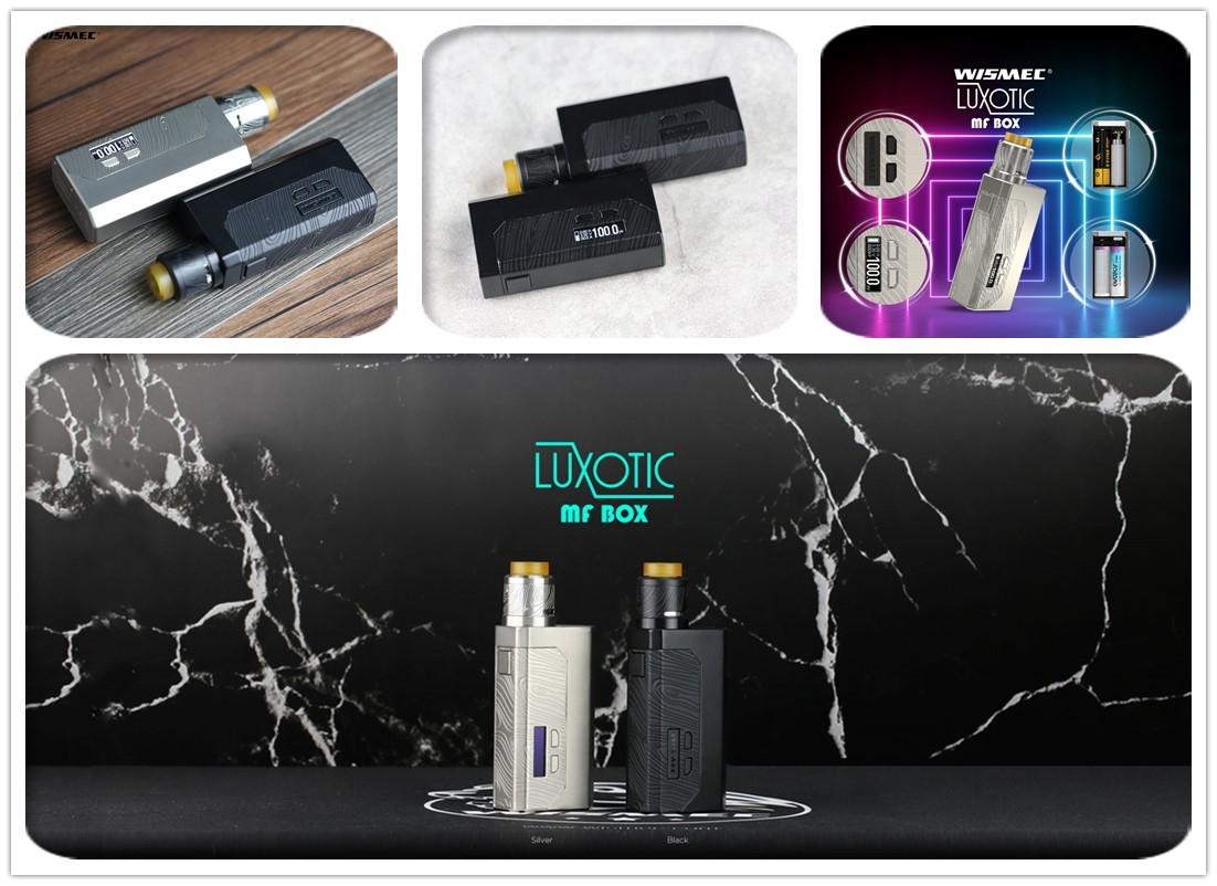 Wismec LUXOTIC MF Box Kit Real Shot