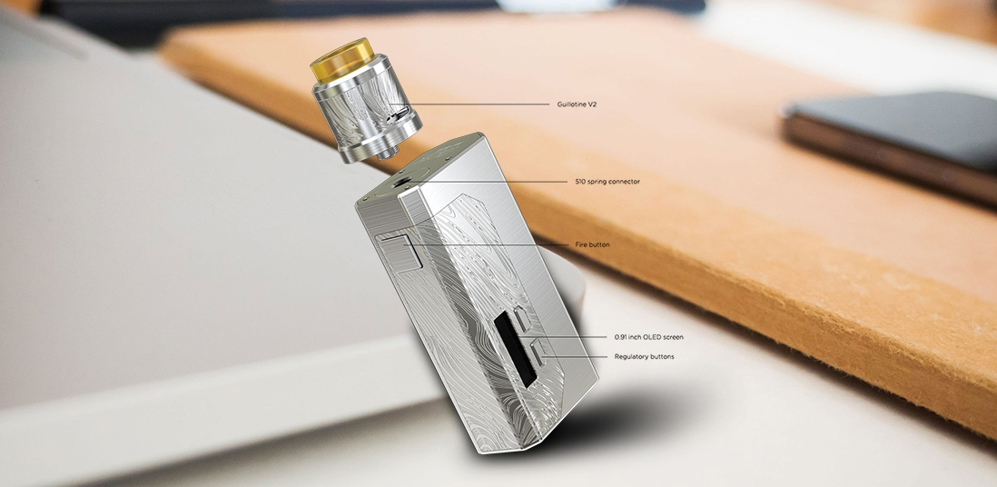 Wismec LUXOTIC MF Box Kit Structure