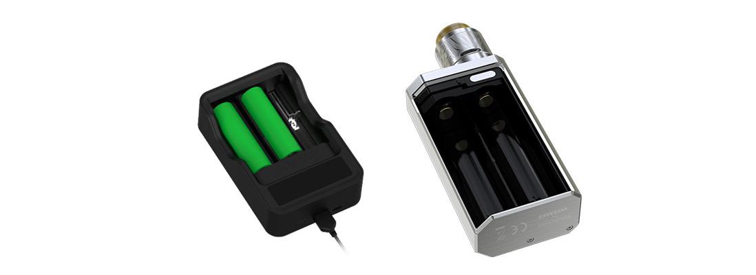 Wismec LUXOTIC MF Box Mod charging