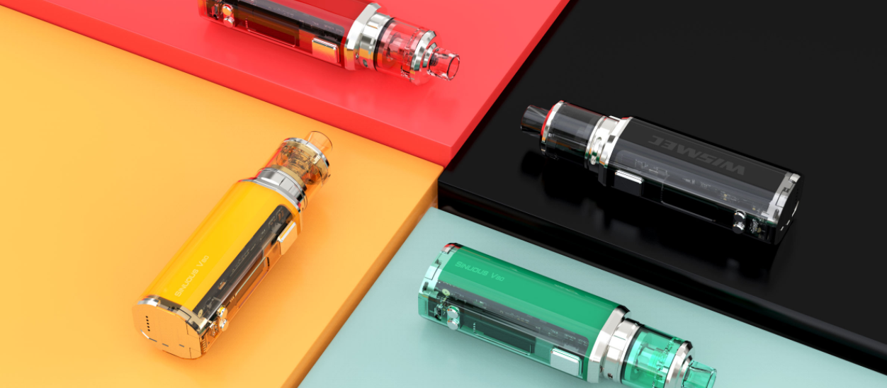 wismec sinuous v80 kit colors