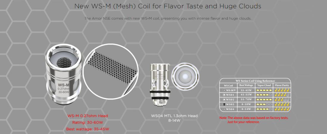Wismec WS-M (Mesh) Coil