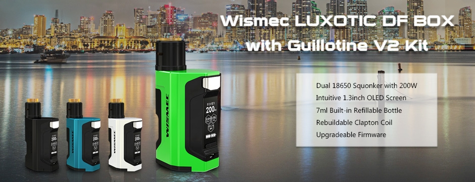 Wismec LUXOTIC DF BOX with Guillotine V2 Kit