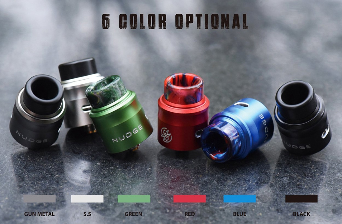 Wotofo Nudge RDA 24mm Colors