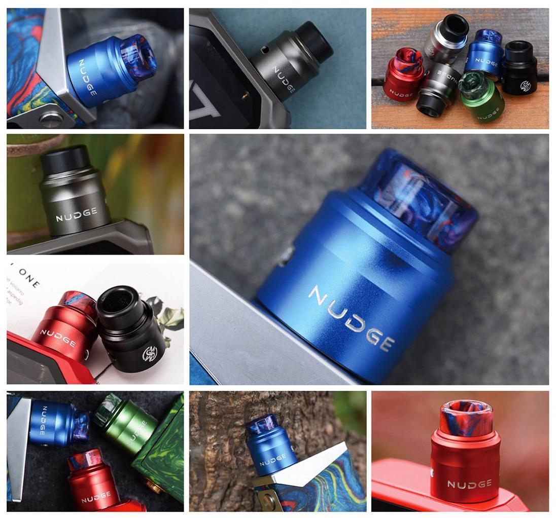 Wotofo Nudge RDA 24mm Real Shot