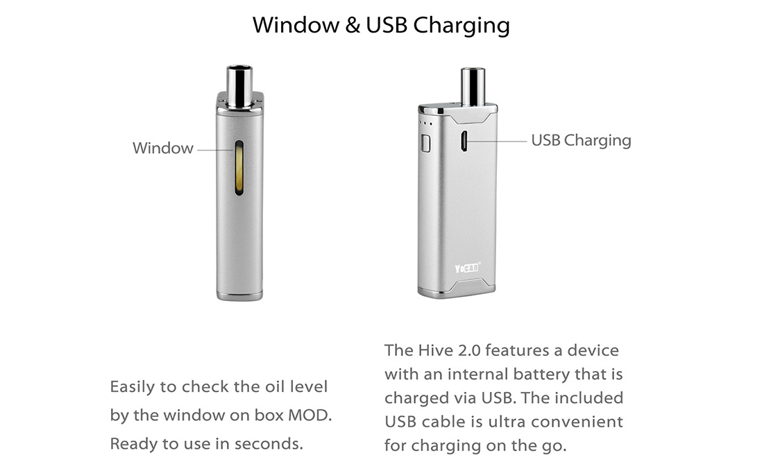 Charging For Yocan Hive 2.0 Kit