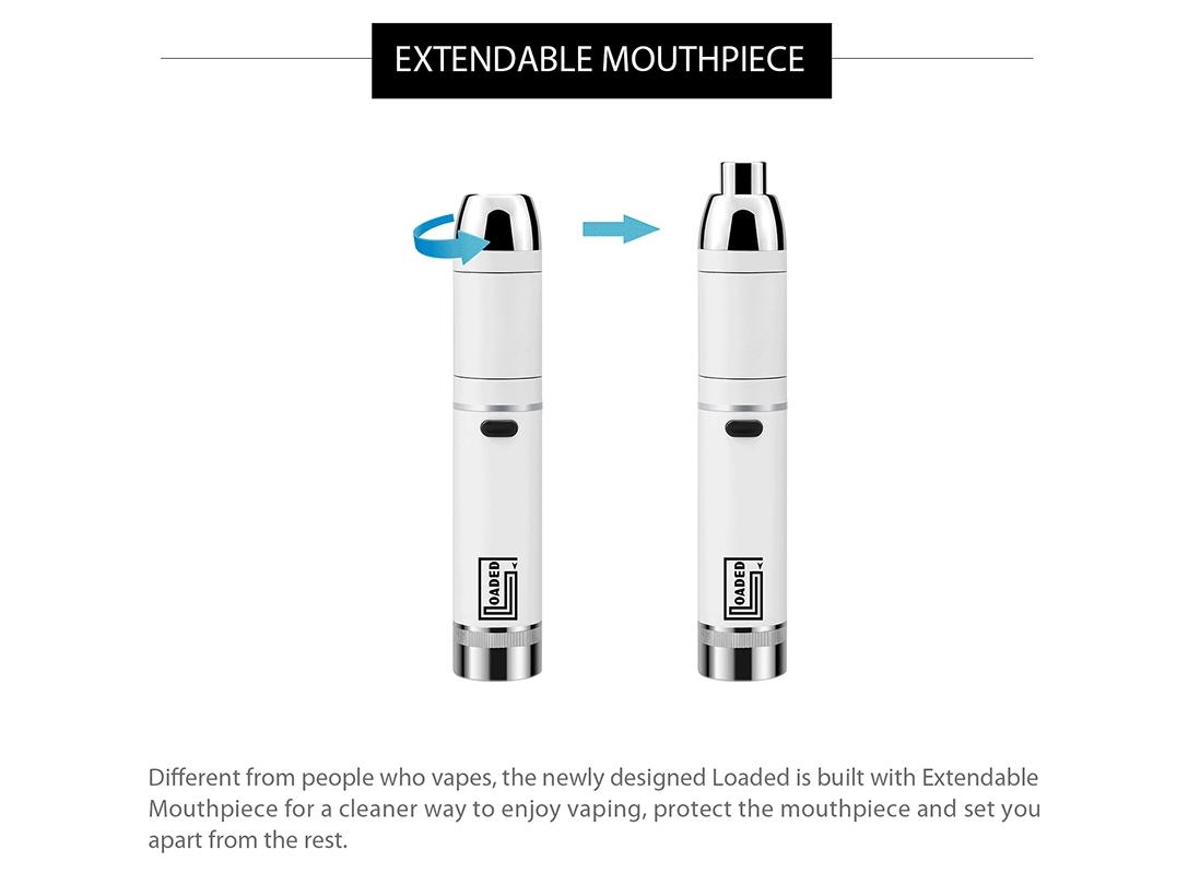 Yocan Loaded Wax Vape Pen Kit Mouthpiece