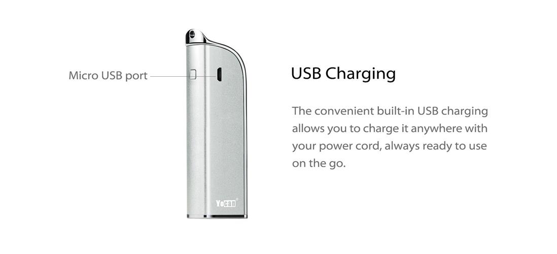 Yocan Stealthkit charging