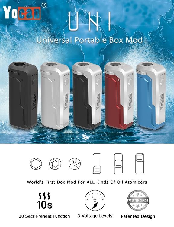 Yocan UNI Box Mod Poster 1